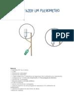 como fazer pluviometro