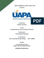 Tarea 1 Fundamentación de las Prácticas Docentes.docx