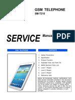 SERVICE MANUAL GSM SM-T210