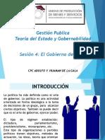 Sesion 4 El Gobierno del Peru