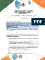 - Paso 5 - Diseñar un Cuadro Sinóptico del Procedimiento Tributario en Colombia