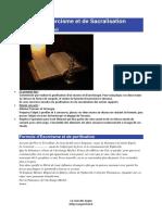 Rituels d'Exorcisme Et de Sacralisation