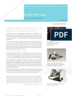 """I believe the single most important strength of Creo Elements/Pro is PTC's continued effort to advance the world of 3D CAD in terms of usability and functionality."""