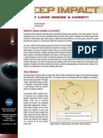 Deep Impact Fact Sheet
