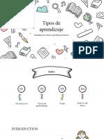 PRESENTACION TIPOS DE APRENDIZAJE EVITACION-EMITACION