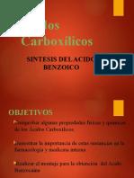 DIAPOSITIVA DE LA SINTESIS DEL ACIDO BENZOICO (2)