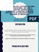 ESTRUCTURA DEL SISTEMA DECIMAL - EQUIPO 3