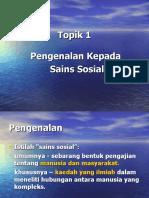 Pengenalan Sains Sosial 1