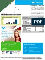 Formato de factura moderna digital