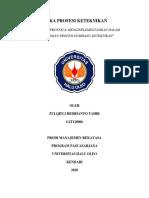 Tugas Makalah Etika Profesi Keteknikan -Zulqifli Hedrianto Tahir G2T120006.