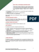 FONDO ESPECIAL PARA LA SEGURIDAD CIUDADANA (FESC)