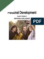 Module in Perdev - Emotional Intelligence.docx
