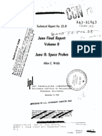 Juno Final Report Volume II Juno II Space Probes