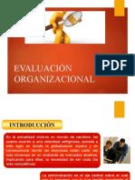 evaluación de las organizaciones