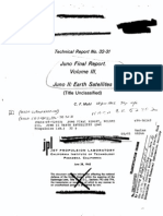 Juno Final Report Volume III Juno II Earth Satellites