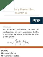 Deciles y Percentiles TERMINADO