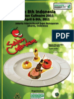 8th Salon Culinaire 2011 Rule Book