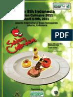8th Salon Culinaire 2011 Rule Book