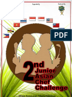 2nd Junior Asian Chef Challenge Rule Book