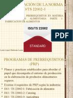NORMA ISO-TS 22002 PARTE 1