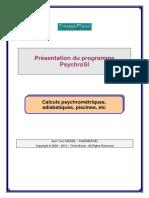 ThermExcel - Programme PsychroSI