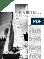 Gamin Sailboat Plans