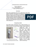 Wireless Communication Device with Near Field Control