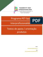 Textos  e PRODUTOS - 1 semestre PET pdf