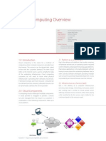 XD10107 Cloud Computing Overview