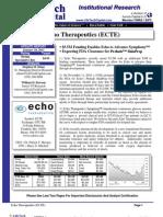 ECTE Update 01-18-11