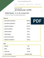 Ficha Técnica de JLG 3394RT. Plataforma De Tijera_