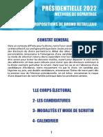 La note préparée par Bruno Retailleau dans la perspective de la présidentielle
