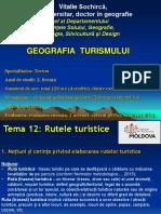 Tema 12. Rutele turistice
