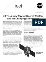 NASA Facts GIFTS a New Way to Observe Weather and the Changing Atmosphere