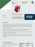 Almibar de Pitahaya