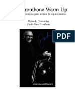 Bass Trombone Warm Up para Sebastian Cifuentes