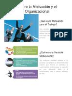 Relación entre la Motivación y el Desempeño Organizacional