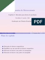 2012-Capítulo 8-Mercados para fatores de produção-Victor Filipe