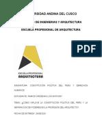 CONSTITUCIÓN, PODERES DEL ESTADO Y EL ARQUITECTO.docx