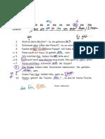Personalpronomen im Dativ - Arbeitsblatt