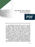 FONSECA Claudia Que Etica Que Ciencia Que Sociedade