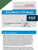 XTO Merger