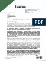 Certificación a tecnología LED 2013025872