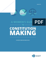 Womens Guide to Constitution Making
