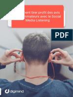 Digimind-HB-Comment tirer profit des avis consommateurs avec le Social Media Listening