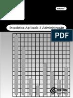 Estatístia Aplicada à Administração - Vol1