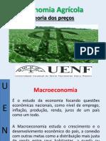 demanda e elasticidade - economia agrícola