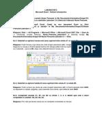Laborator 5 - Excel(1)