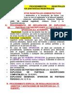 SEMANA 5 - PARTE 2  DUPLICIDAD DE PARTIDAS
