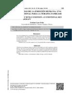 [PDF] CINCO AXIOMAS DE LA EMOCIÓN HUMANA_ UNA CLAVE EMOCIONAL PARA LA TERAPIA FAMILIAR_compress